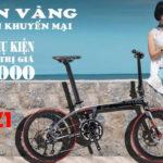 """""""Bùng nổ"""" khuyến mại 2/9 tặng 2.900.000 khi mua xe đạp gấp sava 20"""