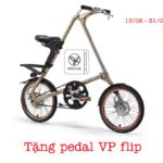 Mua xe đạp gấp Strida EVO tặng pedal VP flip