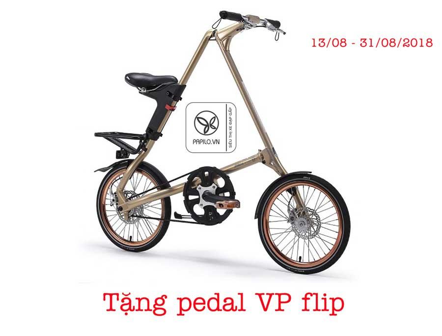 mua xe dap gap strida evo tang pedal vp flip