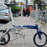 Xe đạp gấp Fnhon 14″ – Siêu gọn nhẹ