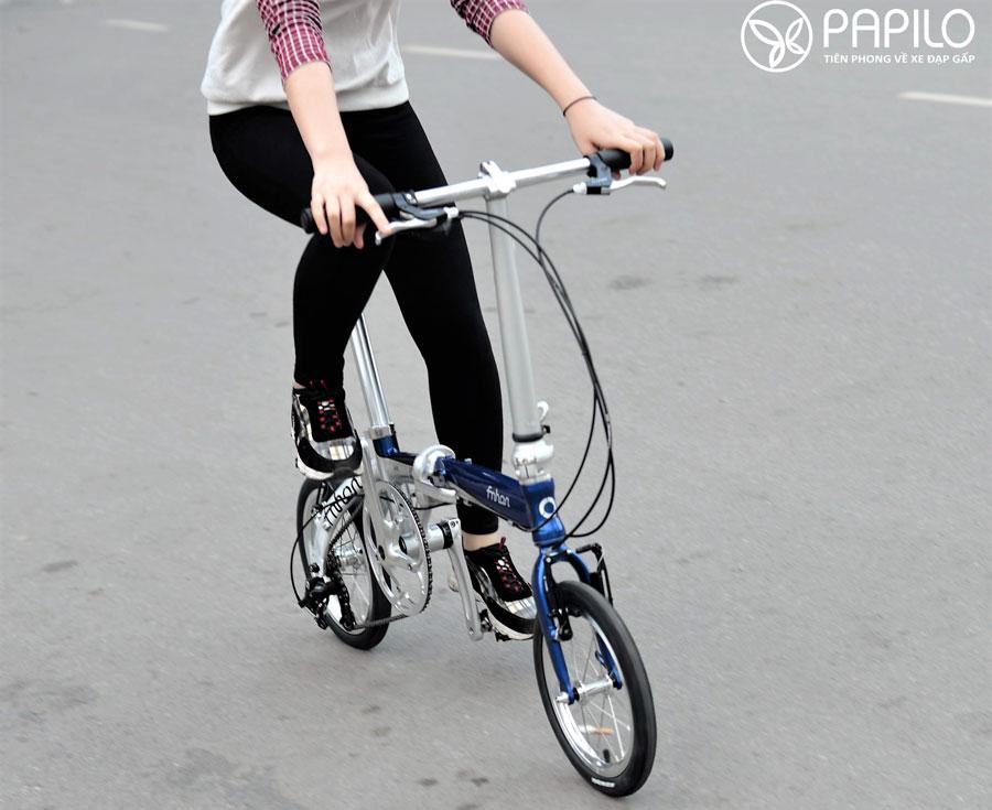 Xe đạp gấp fnhon 14 siêu gọn