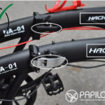 Cảnh báo: Xe đạp gấp Hachiko HA01 nhái