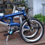 Xe đạp xịn cho nữ gấp gọn, siêu nhẹ