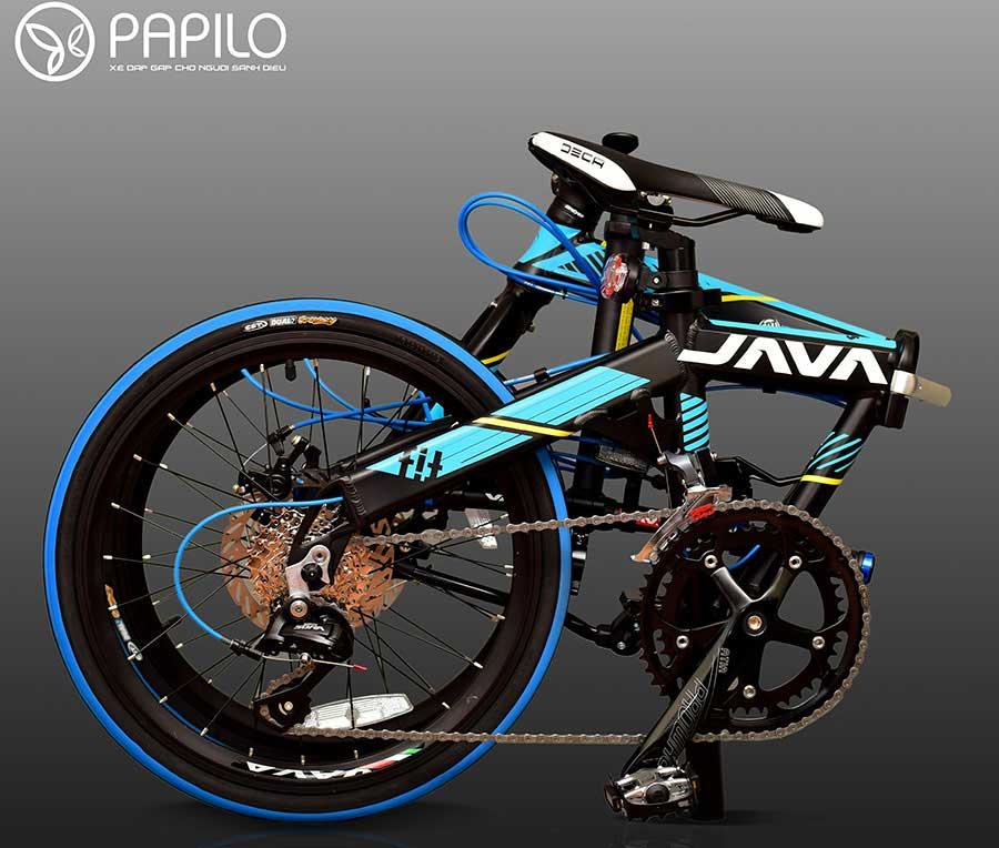 Siêu Xe đạp thể thao gấp Java Fit 18s