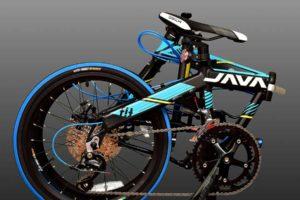 Xe đạp gấp có thể gấp gọn lại tiện dụng