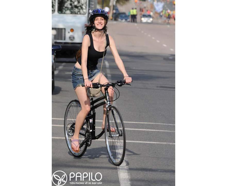 Đạp xe một mình thì bạn sẽ chủ động được thời gian