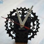 Đồng hồ bằng líp xe đạp – quà tặng độc đáo khi mua xe đạp gấp