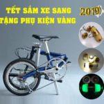 KM quà tặng Tết Nguyên Đán 2019 khi mua xe đạp gấp