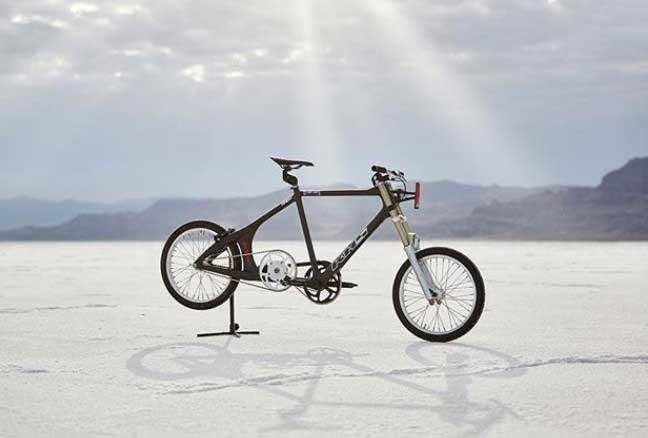 chiếc xe đạp đặc biệt của tay đua Denise Mueller