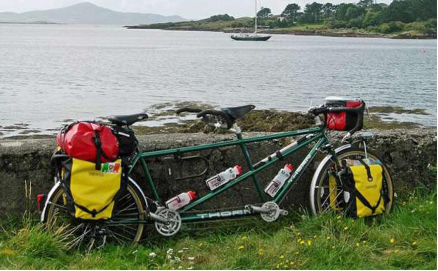 Xe đạp đôi đi du lịch
