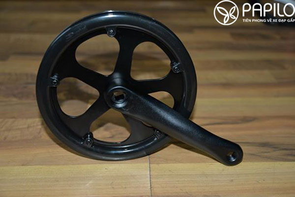 Đùi đĩa xe đạp màu đen