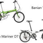 So sánh xe đạp gấp Banian V7 với Dahon Mariner D7