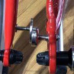 Nam châm hút bánh xe đạp khi gấp lại