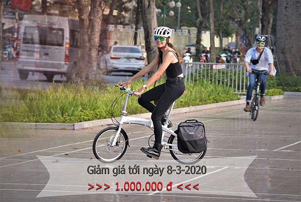 Giảm giá đặc biệt đối với mẫu xe đạp gấp Citroen (Pháp)