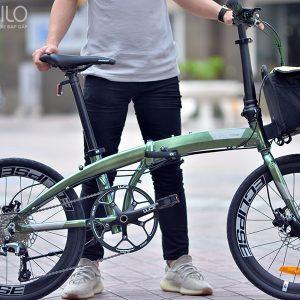 Xe đạp gấp Ecosmo 10