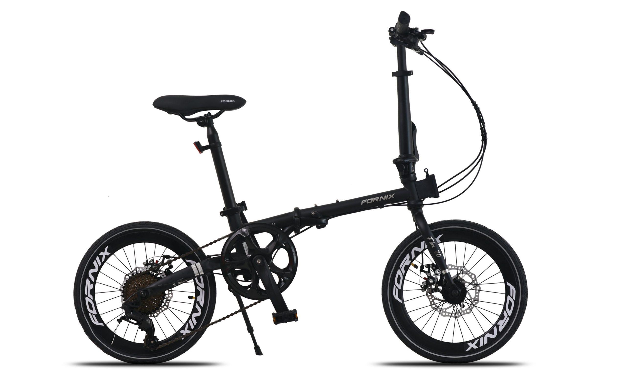 Xe đạp gấp Fornix Flux 7.0_màu đen