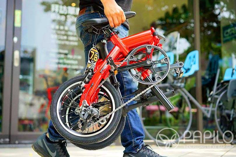 xe đạp gấp siêu nhẹ Renault Mg7